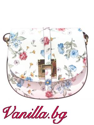 Малка чанта за през рамо - естествена кожа