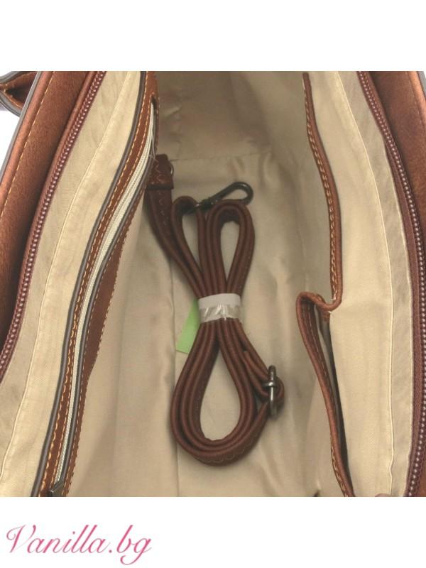 За вас - Чанти- Дамска чанта в ретро стил