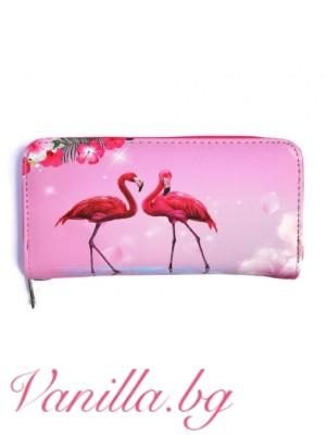 """Портмоне """"Розово фламинго"""""""