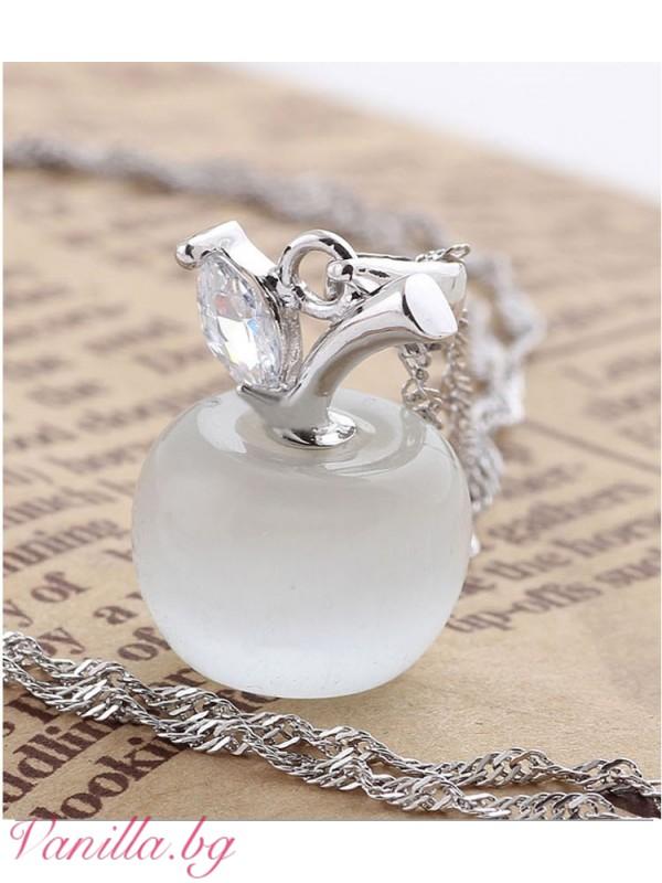 Бижута - Комплект бяла ябълка