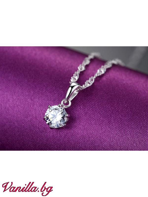 Бижута - Комплект Елза кристал