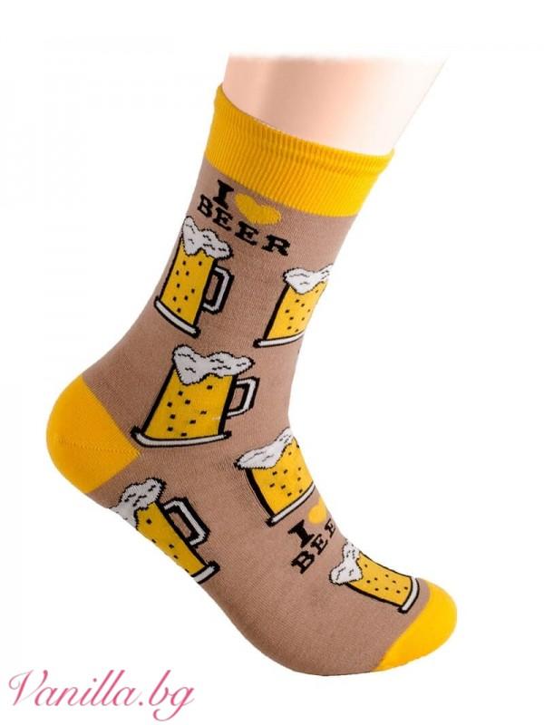 Чорапи с халби бира
