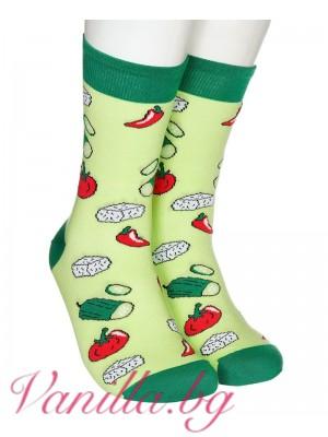 """Чорапи """"Шопска салата"""""""