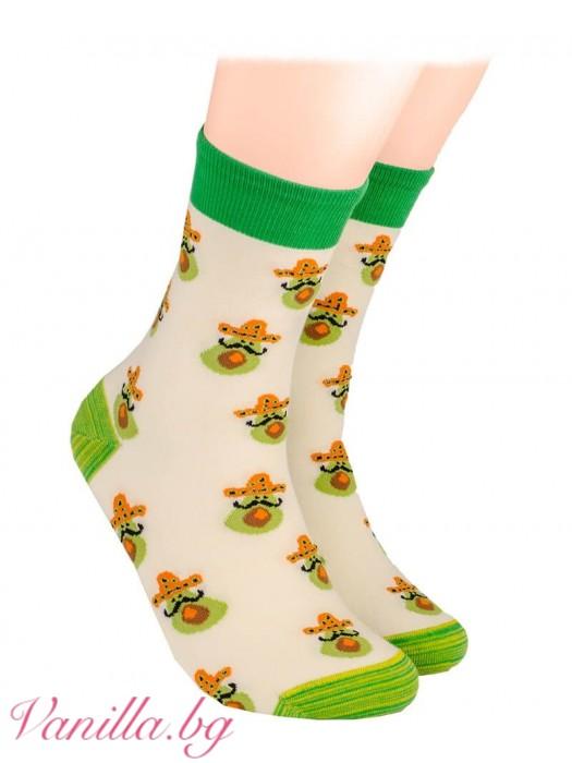Чорапи с авокадо