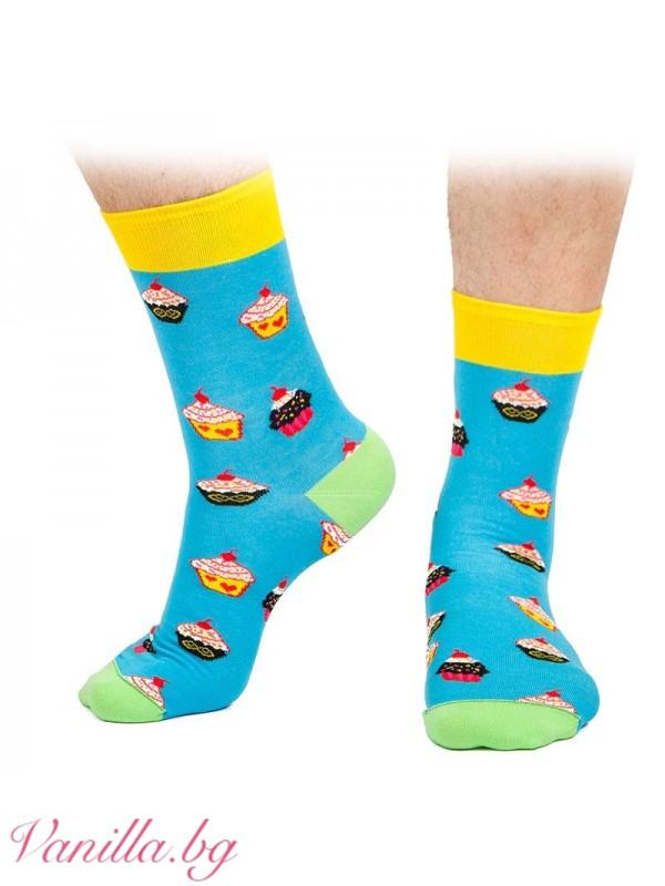 Чорапи с вкусни кексчета