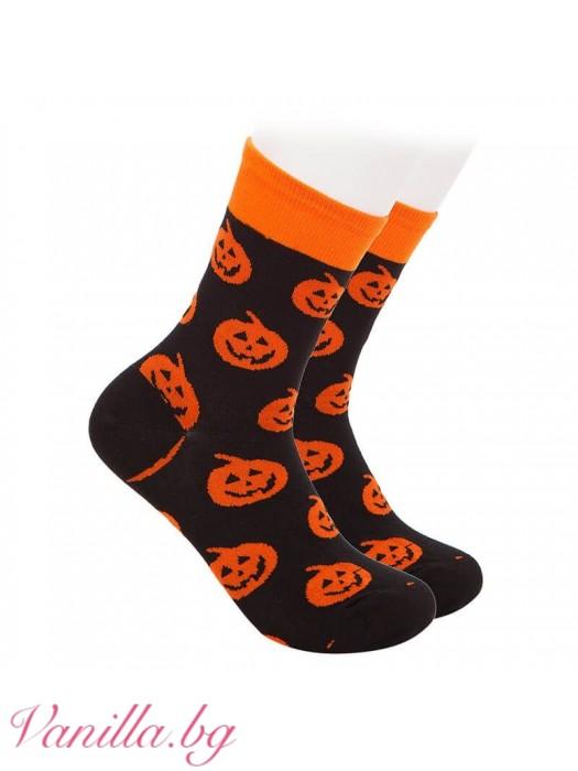 Чорапи с тиквени фенери
