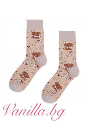 Чорапи с кученца и кокал