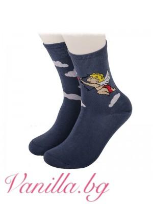 Чорапи Купидон с любовна стрела