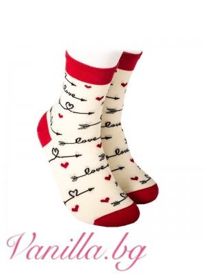 """Чорапи """"Стрелите на любовта"""""""