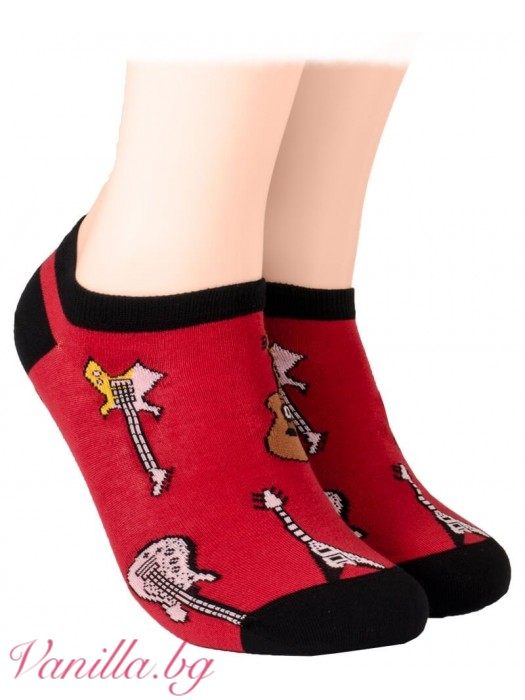 Чорапи с китари - модел тип терлик