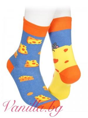 Чорапи с мишка и сиренце