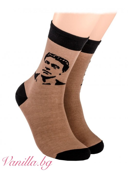 Чорапи с портрета на Васил Левски