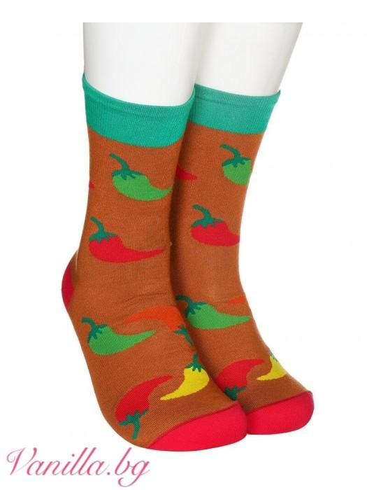 Чорапи с люти чушки
