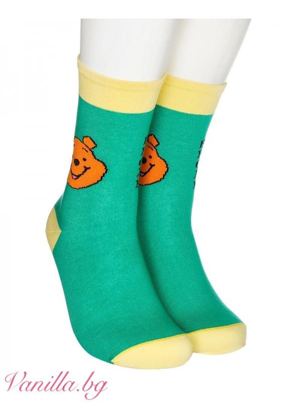"""Чорапи с надпис """"Всяко нещо струва друго нещо!"""""""