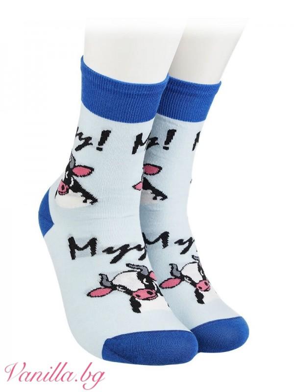 Чорапи с крави