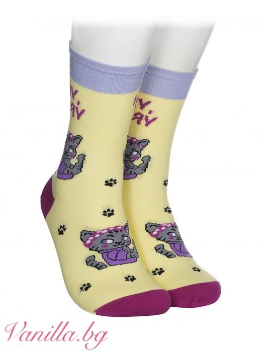 Чорапи с котенце