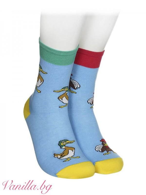 Чорапи с петли и патоци