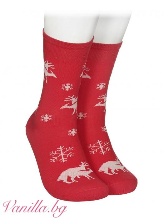 """Чорапи """"Вежливият лос"""""""