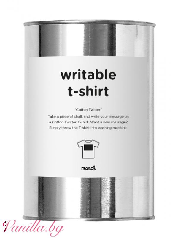 Тениска за креативни хора - дамска