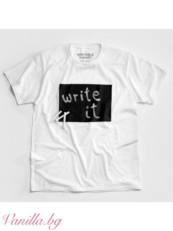 Тениска за креативни хора - мъжка