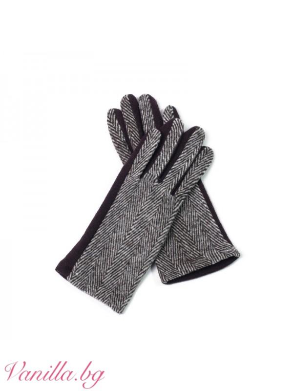 Елегантни вълнени ръкавици