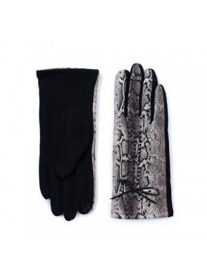 """Ръкавици с принт """"Змийски шарки"""""""