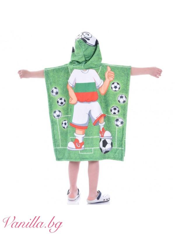 Детска хавлия - футболист