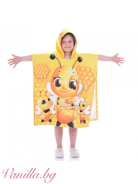 Детска хавлия - пчеличка