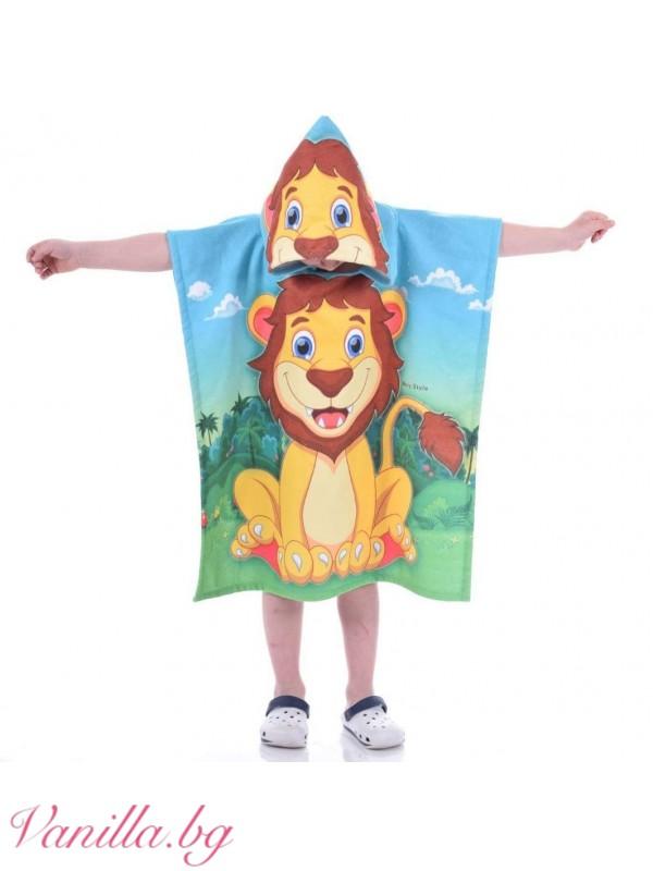 Детска хавлия - лъвче