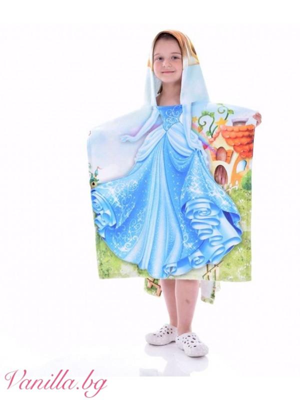 Детска хавлия - принцеса