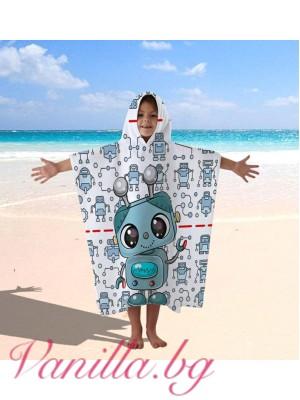 Детска хавлия - робот