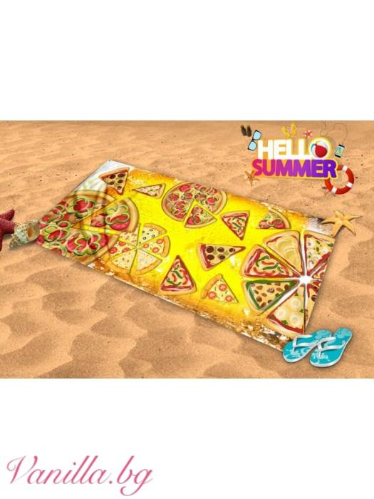 Плажна хавлия - пица