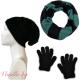 "Подаръчен комплект ""Ангора"" - шапка, ръкавици и шал"