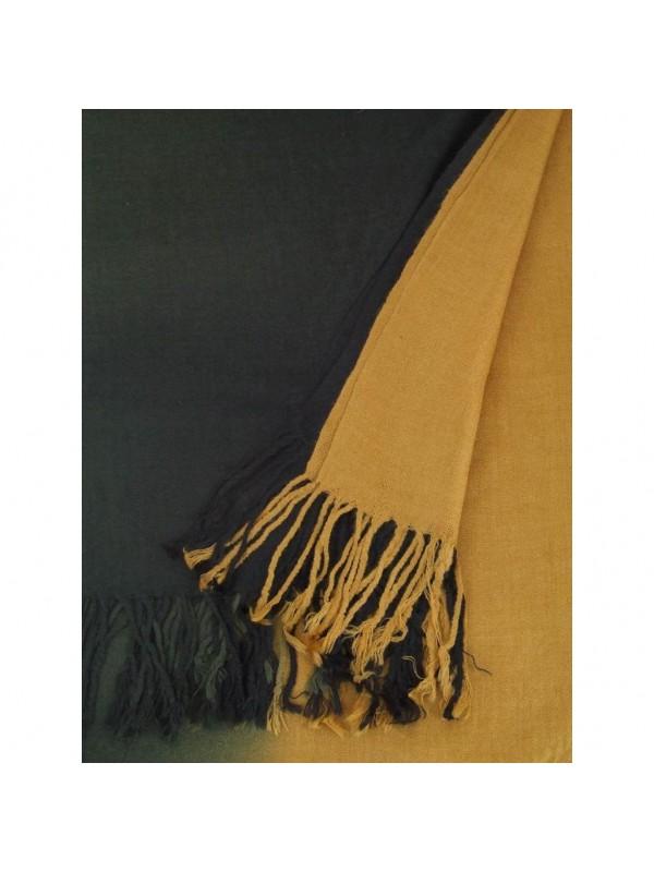 Цвят: преливка черно-охра