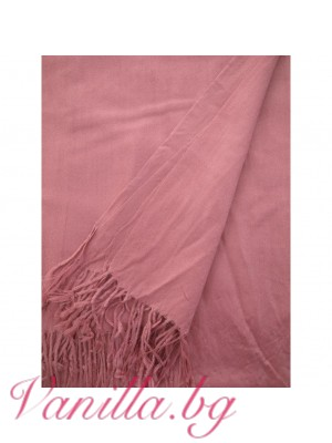 Семпъл дамски шал с ресни