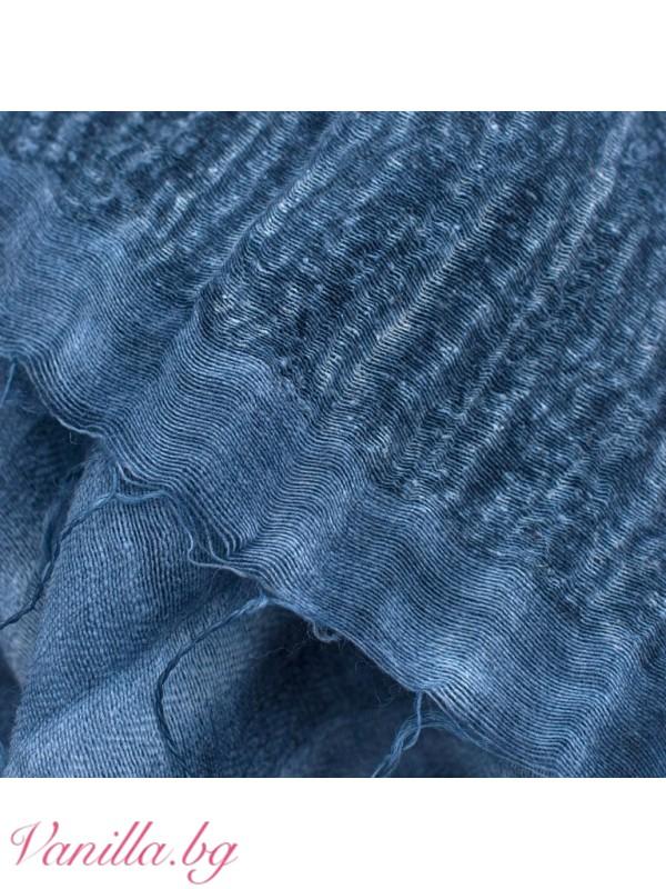 Елегантен дамски шал с ресни