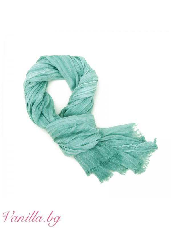 Аксесоари - Подаръчен комплект Lucky Green - шал, тефтер и бижута