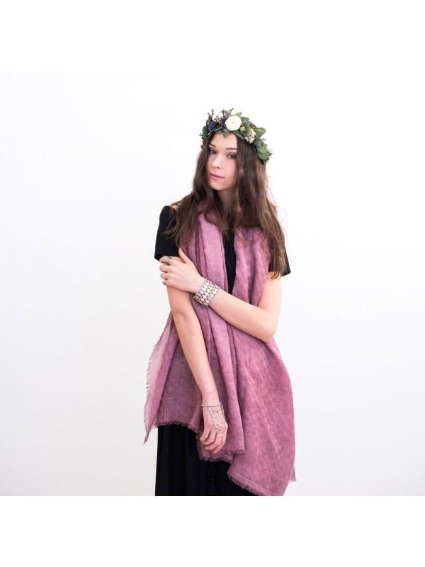 Дамски шал с мъниста