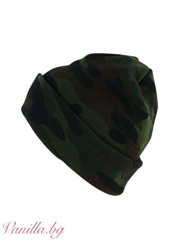 Унисекс камуфлажна шапка