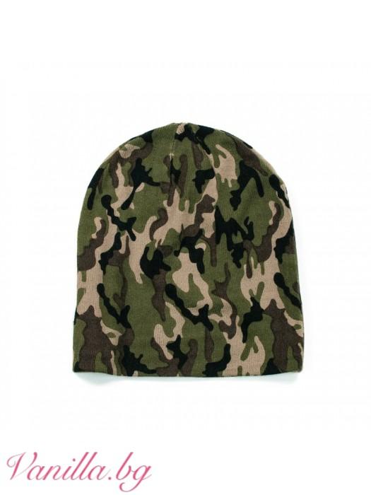 Камуфлажна шапка
