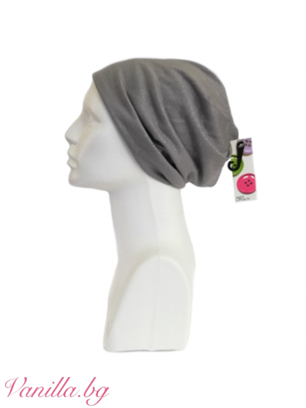 Дамска шапка Ламе