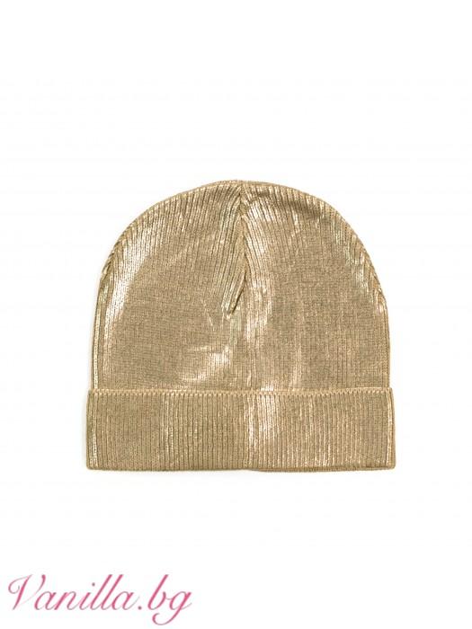 Дамска шапка Металик