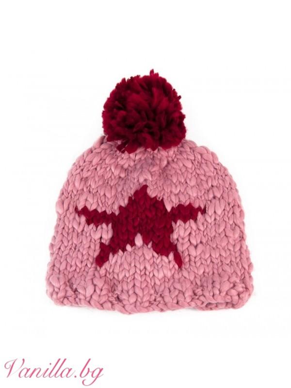 Шапки - Дамска шапка Звезда