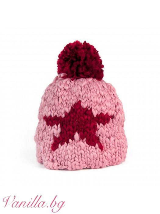 Дамска шапка Звезда