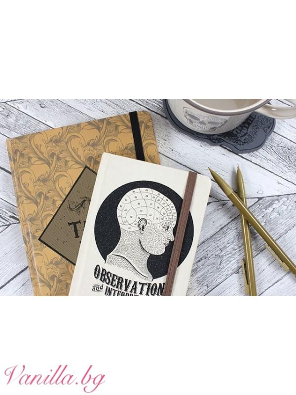 Офис аксесоари - Луксозен тефтер Tattoo Ideas- формат А5