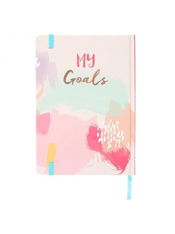 Офис аксесоари - Луксозен тефтер My Goals - формат А5