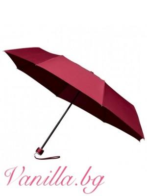 Сгъваем чадър MiniMAX - бордо