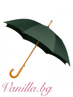 Ветроустойчив тъмнозелен чадър Warwick