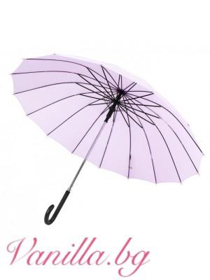 Луксозен ветроустойчив чадър VOGUE - TERRASSA