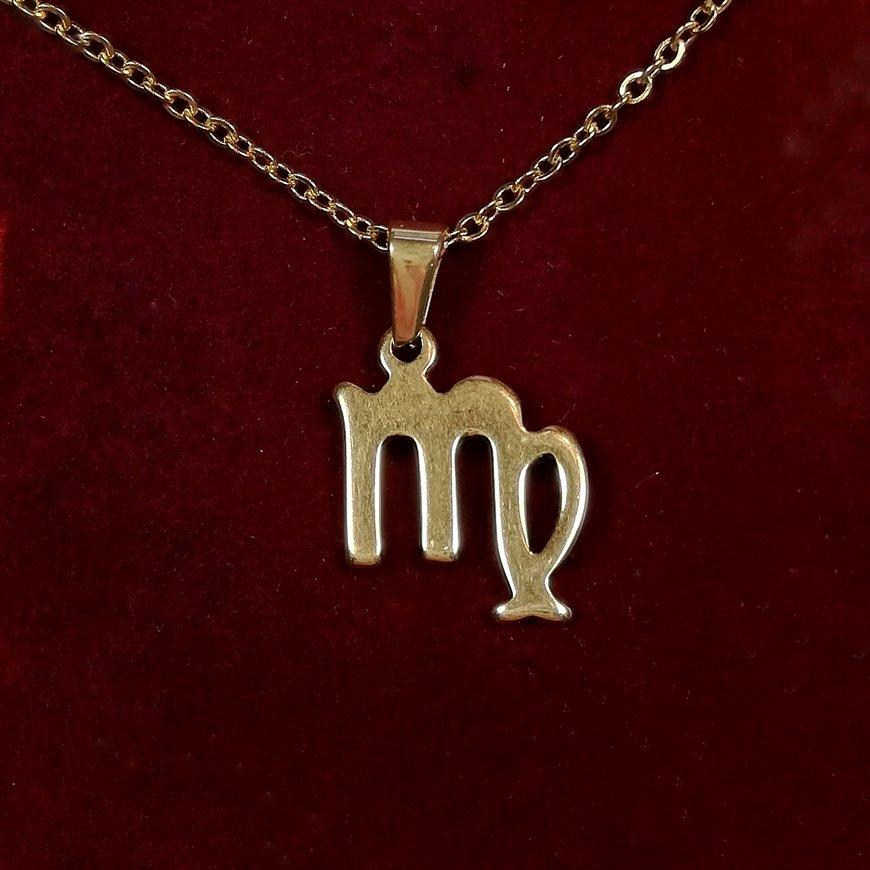 медальон зодия дева